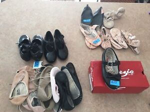 Assortment of dance shoes size 10 - 2 Cambridge Kitchener Area image 1