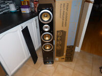 brand new pair of pure acoustics speakers in the box