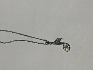 Sterling Silver Music Note Necklace Peterborough Peterborough Area image 1
