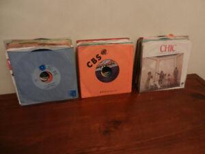 """Vinyl Records 45RPM 7"""" Singles Soul,Funk,Pop Lot of 63"""