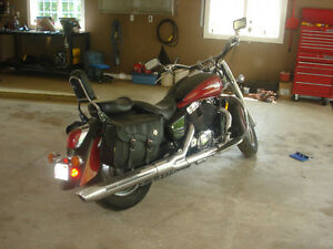 2001 Honda Shadow 1100 Aero, LOW KM FOR YEAR