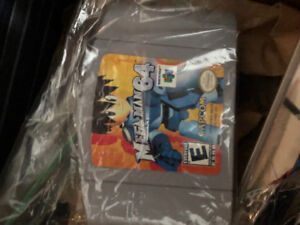 Nintendo 64 Games  PS1 and PS2 games