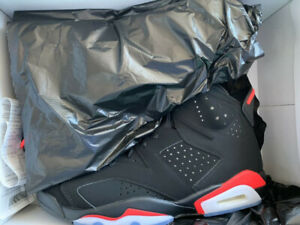 Air Jordan 6 Infrared 6 Crimson Black tons of sizes