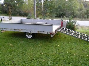 All Steel Construction Utility Trailer