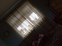 ikea long curtains, window, patio doors