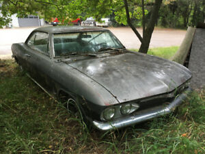 REDUCED PRICE 1965 Corvair Monza 2 dr. HT Project