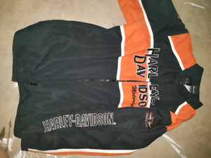 Kids size 9/10 authentic Harley jacket and sweater