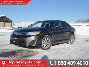 2014 Toyota Camry LE  - Low Mileage