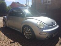 Volkswagen Beetle 2.0 (silver) 2002