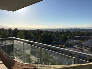 1 Bed/1 Bath condo with a view - Uptown New West. Avail July 1