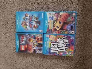 4 Wii u games