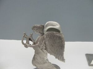 Seagull Pewter Angel with Harp Taper Candle Holder London Ontario image 3