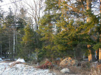 1 acre lot on quiet side street in Quispamsis