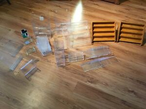 Assortment of commercial displays- Approx 40 pieces