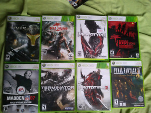 Selling Xbox 360, Xbox and PS3 games