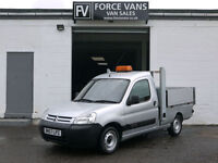 CITROEN BERLINGO 1.6HDi PICK-UP FLAT BED DROPSIDE SMALL CAR DERIVED DAILY VAN