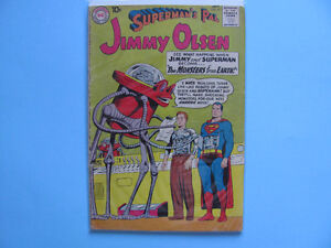 Jimmy Olsen Comics,  numbers range from  #47 to  #131