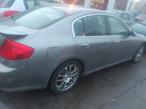 2005 Infiniti G35 Sedan. CERTIFIED AND ETEST