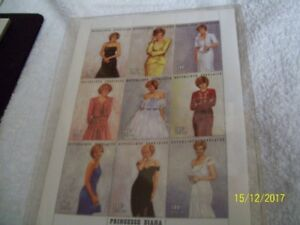 PRINCESS DIANA COMMEMORATIVE STAMPS [9]