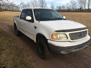 Ford F150 Crew Cab V8 4x4 for parts or fixer upper
