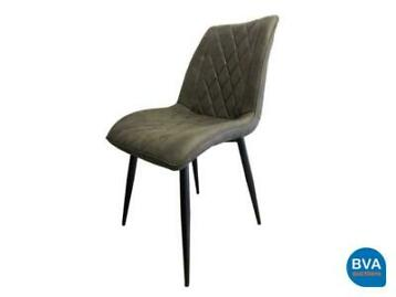 Online veiling: 6 Design stoelen Ashley Diamond Dark Grey|
