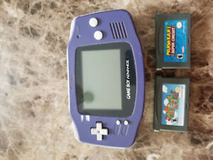Game Boy Advance + 2 jeux Mario Bros