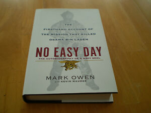 NO EASY DAY BOOK THE AUTOBIOGRAPHY OF A NAVY SEAL