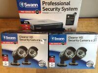 Swann DVR8-4400 8 Channel 720p DVR 1TB 4 X PRO-A850 HD Cameras CCTV Security Kit BARGAIN MUST GO!!