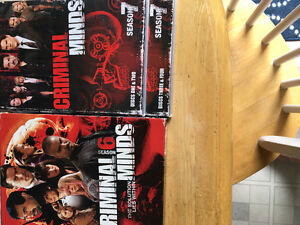 Criminal MInds series 6 and series 7 of disc 1,2,3,4