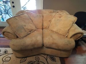 Comfy & Affordable Couch & Loveseat