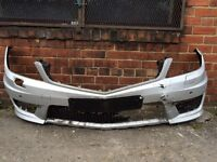 Mercedes c63 2012 2013 2014 genuine front bumper for sale