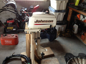 2004 3.5hp Johnson Outboard ShortShaft