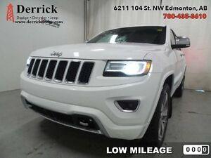 2014 Jeep Grand Cherokee   Used AWD Overland Low Mileage Nav $26 Edmonton Edmonton Area image 1
