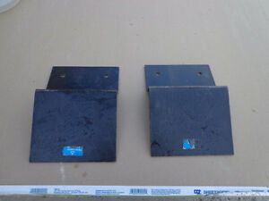 Princess Auto 1500 lb 8 in. Steel Ramp Plate Ends