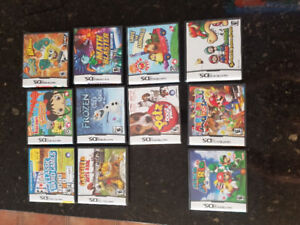 More Nintendo DS games and 3DS