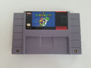 Super Mario World pour Super Nintendo (SNES)