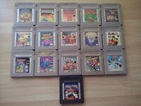 Original Gameboy & Games