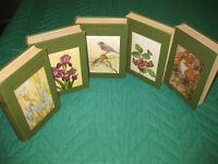 5 Volume set of Nature books