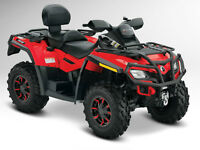 can am outlander fourwheeler max xt 800