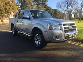 2008 Ford Ranger Pick Up Thunder Double Cab 2.5 TDCi 4WD 4 door Four Wheel Dr...