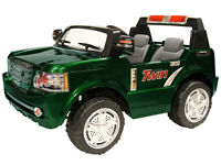 New Big Two Seater Child Ride-On with Two 12V Battery & Remote