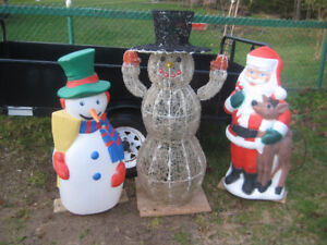 Lawn Christmas Decorations.
