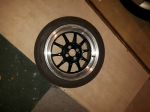"""4x100 16""""rota gt3 wheels and tires"""