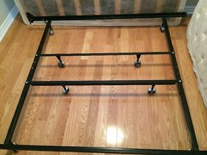 Bed Frame with Wheels - Able to attached headboard
