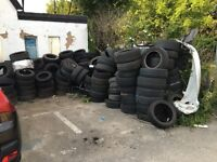 Free old tyres