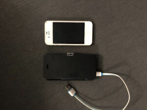 Cheap! iPhone 4 with battery case