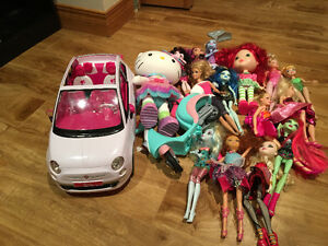 Car motorcycle dolls