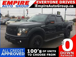 2012 FORD F-150 FX4 * 4WD * LEATHER * NAVIGATION * REAR CAM