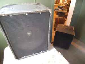 Pair of 1970s Altec Lansing guitar speakers (418B)