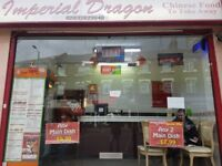 CHINESE HOT FOOD TAKAWAY & DELIVERY FOR SALE , REF: RB258